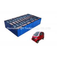 China Large Capacity  Lifepo4 Electric Car Batteries 96V 120Ah Military Use Efficiency on sale