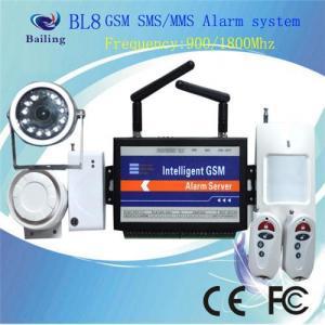 Quality GSM Wireless Intelligent Alarm System for sale