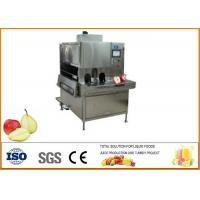 China 500kg/h Apple Pear Dried Fruit Production Line 1200/H Peeled Core Machine on sale