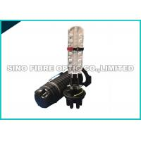 Quality 2 Into 2 Out Fiber Optic Splice Box 24 Core For Fiber To The Home Hand Hole Splicing for sale