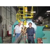 Buy cheap Large Light Pole Shut-Welding Machine / light pole production line with ISO from wholesalers