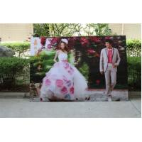 Quality 2021 new year wholesale 3d lenticular printing wedding photos with depth 3d moving effects by UV flabed printer for sale