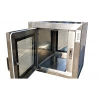 Quality Custom Stainless Steel 201 Static Pass Through Chamber For GMP Workshop for sale