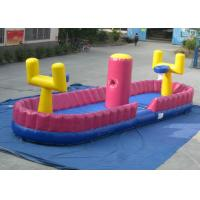 Quality Colourful Inflatable Toddler Playground , Inflatable Playground Competitive basketball shooting 11.2 X 3 X 3m for sale