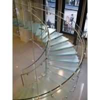 Handrail and Step Glass