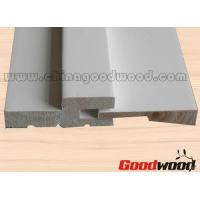 Quality Primed Decorative Wooden Mouldings Door and Window Frames for sale