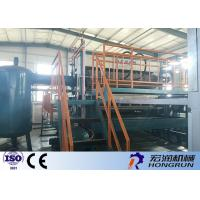 Quality Waste Paper Egg Tray Machine With Diesl / Gas Fuel Drying line 4000PCS / Hour for sale