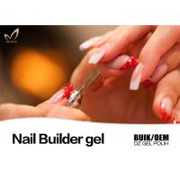 Quality Durable Pink Builder Gel For Nails , Healthy Nail Salon Gel Nail Polish for sale