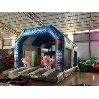 Buy cheap Wide Inflatable Car Wash Themed Jump House Inflatable Children Bounce With Slide from wholesalers