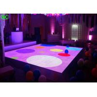 Quality Indoor Full Color p6.25 led disco dance floor High Definition With Constant Current 1/5 Scanning for sale