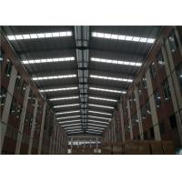 China Additional Light Steel Frame Construction , Structural Steel Roof Framing Size Optional on sale
