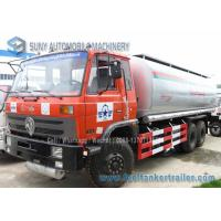 Quality 10 Wheel Chemical Tanker Truck 20000 Litres Carbon Steel 210 hp Dongfeng for sale