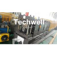 Quality 0-15m/min Forming Speed Cold Roll Forming Machine For Making Top Hat Channel , Furring Channel for sale