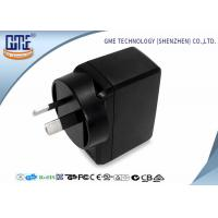 Quality Energy Saving EN60065 Au Plug 5V 2A Universal USB Power Adapter For Cellphones for sale