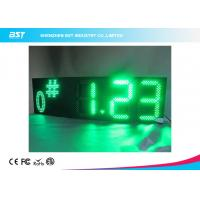 """Quality Semi Outdoor Led Gas Price Display , 15 """" Advertising Led Display Panel Price for sale"""