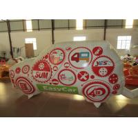 Quality Standing Inflatable Advertising Signs Car For Advertising Commercial Inflatable Wall for sale