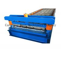 Quality Aluminum IBR Roofing Sheet Roll Forming Machine Colored Steel Tile Type for sale