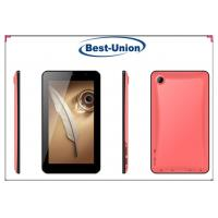Quality Yellow , Blue, Pink Ladies 6.5 Inch Android tablet PC with 2.0 Mega pixels Camera for sale