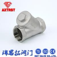 """Quality 800# Screwed End Stainless Steel Y Strainer CF8 / CF8M 1/4"""" - 4"""" Metal Strainer for sale"""