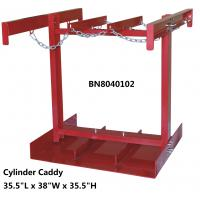 """Buy cheap Steel Compressed Gas Cylinder Stands , Gas Tank Storage Rack 7 To 9.5"""" Diameter from wholesalers"""