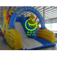 Quality 2016 hot sell noah's ark inflatable bounce house with 24months warranty from GREAT TOYS for sale