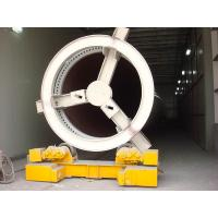 Quality Conventional Welding Rigid Pipe Stands , Wheeled Motorized Pipe Rollers for Welding for sale