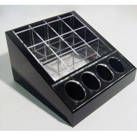 Quality Black Cosmetic Display Desktop Cosmetic Display Holders 15cm X 15cm for sale