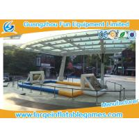 Quality Air tighted inflatable football pitch ,  Volleyball Court With Digital Printing for sale
