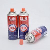 Quality Aerosol Can Refill Butane Gas Tin Can Empty Butane Gas Canister for sale