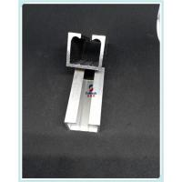 Quality 6060 Cutting Aluminum Extrusion Profiles Customized With Window Cartain / Rail for sale
