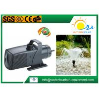 Quality Plastic Multi - System Water Fountain Submersible Pump Energy Saving Big Flow Rate for sale