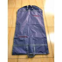 Luxury Fold Up Garment Bag  200D Polyester Embroider Webbing Handled