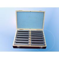 Quality 10MM Parallels Precision Gauge Block Alloy Steel S45C Hardness HRC 50°-55° for sale