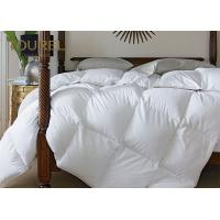 Quality Wholesale Hotel Duvet Bedding 200TC White Plain Percale Fabric for sale
