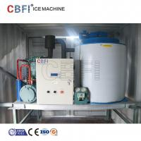 Quality 1mm - 2mm Thickness Flake Ice Machine With Germany Bitzer Compressor for sale