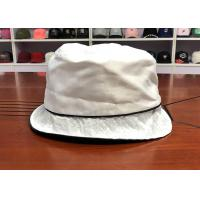 Quality Best quality customized white summer sun unisex fashionable fisherman bucket hats caps for sale