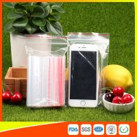 Buy 10 x 15 Clear Reclosable Zipper Plastic Bag / Self Sealing Poly Bag at wholesale prices