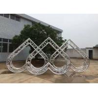 China Fashion OEM Portable Stage Truss , 8m Diameter Truss Aluminum Spigot Truss on sale