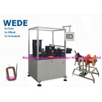 Quality Auto Paper Inserting Coil Winding Machine By Flat Wire PLC Control Mode for sale