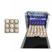 Quality Usb Flash Automatic Egg Stamping Machine Label Logo Print For Egg Owner for sale