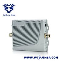China Portable Cell Phone Signal Booster Tri-Band GSM900 DCS1800 WCDMA2100 for sale