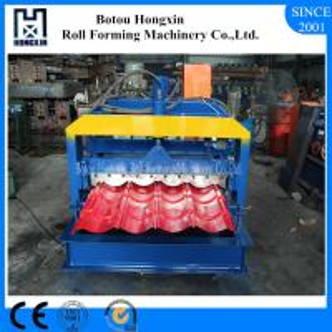 China Hydraulic Pump Corrugated Roof Sheeting Machine 0.3 - 0.8mm Panel Thickness on sale