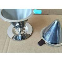 Quality Paperless Pour Over Coffee Filter , Dripper Stainless Steel Reusable Coffee Filter for sale