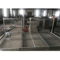 Buy cheap 6'X12' chain link fence panels 1⅜