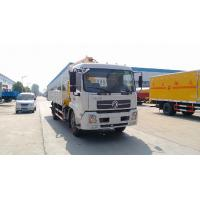 Quality dongfeng tianjin 4*2 6ton truck mounted crane for sale