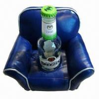 Quality Sofa Wine Bottle Holder, Made of PU for sale