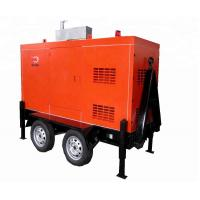 Quality Silent Mobile Diesel Generator 1500/  1800rpm Speed Brushless Excitation Smartgen Control for sale
