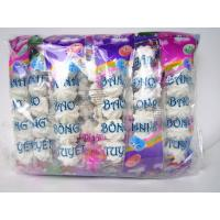 Quality Bread Shape White Colored Marshmallow Candy 5pcs In One Bag OEM for sale