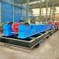Quality Customize Metal Cable Support System / Solid Cable Tray Making Machine 20 Stations for sale