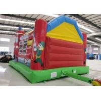 Buy 0.55mm Pvc Tarpaulin Indoor Inflatable Bounce House , Toddler Jump House Double Stitching at wholesale prices